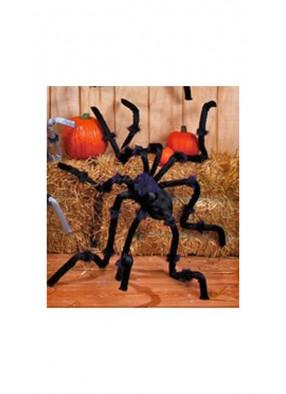 Огромный черный паук 240 см