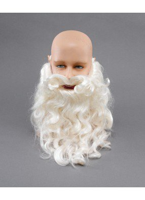 Окладистая борода Деда Мороза