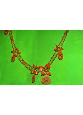 Оранжевая гирлянда Тыквы фото