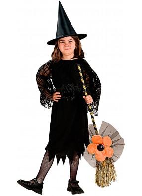 Оранжевая метла малышки ведьмы