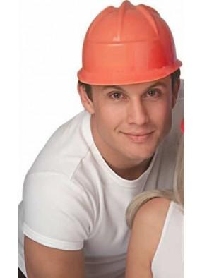 Оранжевая строительная каска