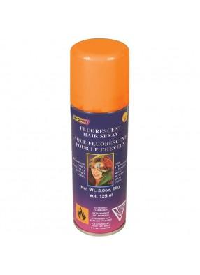 Оранжевый спрей для волос