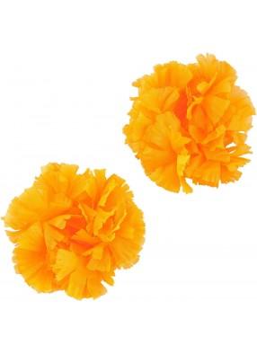 Оранжевые гавайские браслеты
