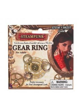Оригинальное кольцо с шестеренками