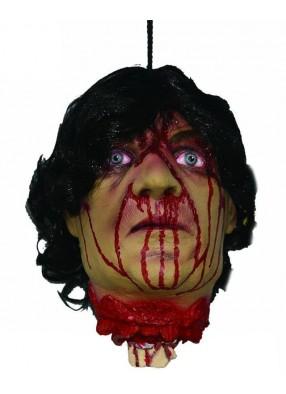 Отрубленная окровавленная голова