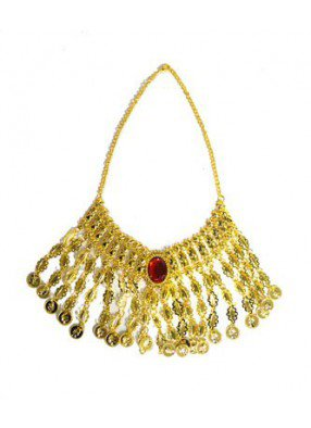 Ожерелье египетское с рубином