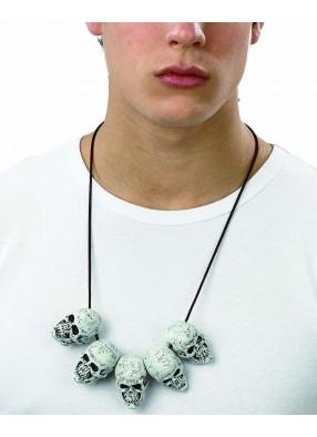 Ожерелье с черепами