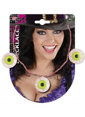 Ожерелье с глазами ведьмы 1 фото