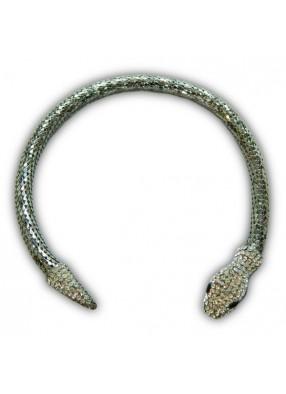 Ожерелье змея Серебро