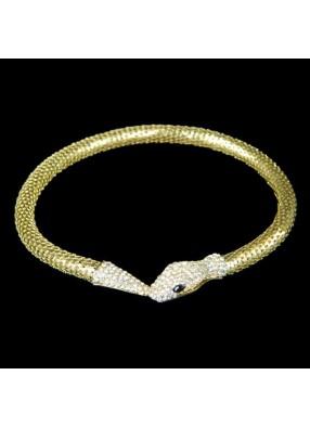 Ожерелье змея Золото