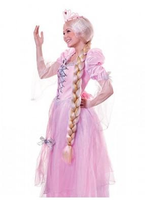 Парик блондинки с длинной косой