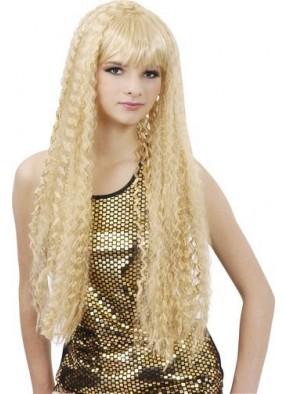 Парик блондинки с длинными волосами