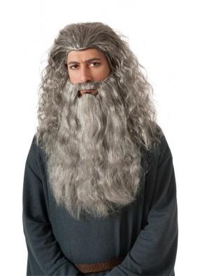Парик и борода Гэндальфа взрослый