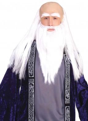 Парик и борода старца волшебника
