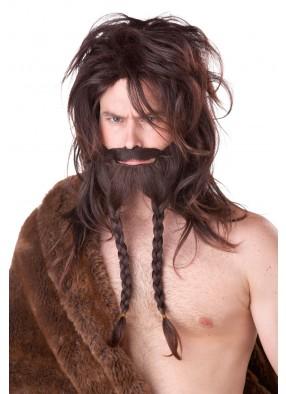 Парик и борода сурового викинга