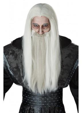 Парик и борода злого волшебника
