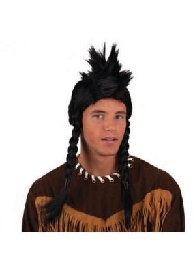 Парик индейца с ирокезом