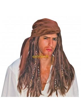 Парик карибского пирата