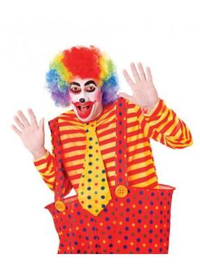 Парик клоунский цветной