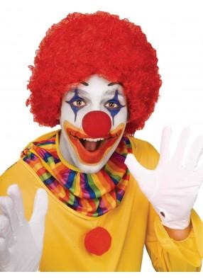 Парик клоунский красный