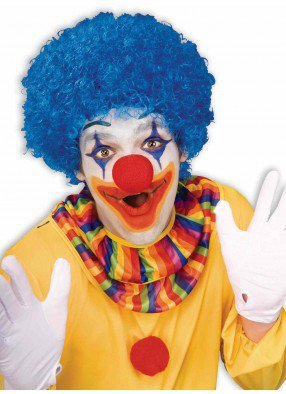 Парик клоунский Синий