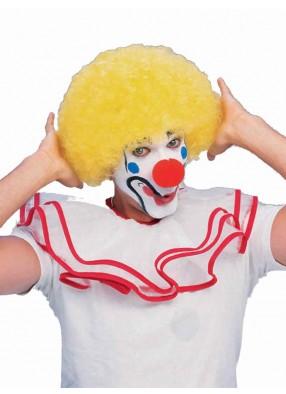 Парик клоунский желтый