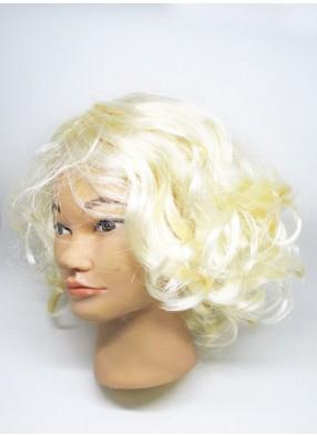 Парик модной блондинки
