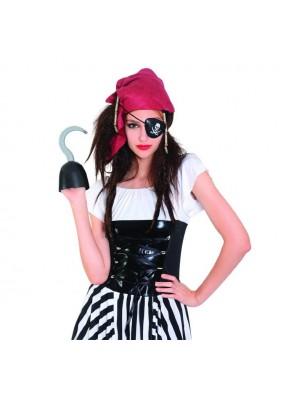 Парик одноглазой пиратки