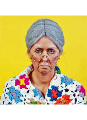 Парик пожилой женщины