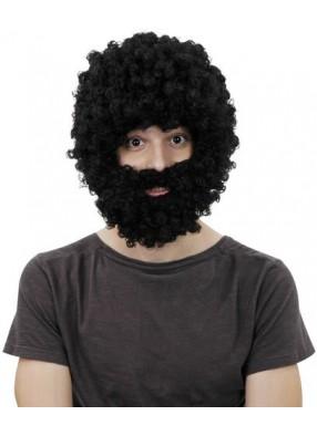 Парик Робинзона с бородой