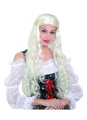 Парик средневековой блондинки