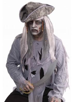 Парик зомби-пирата