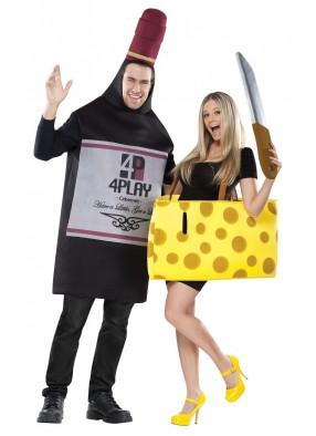 Парные костюмы Вина и сыра