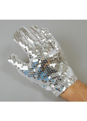 Перчатка Джексона блестящая