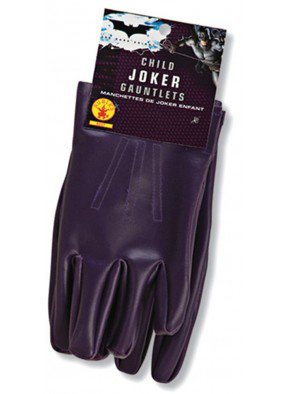 Перчатки Джокера взрослые