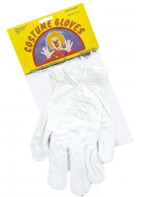 Перчатки клоунские белые