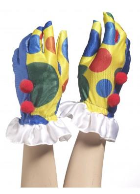 Перчатки клоунские