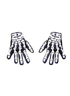 Перчатки скелетона