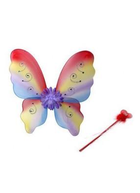Пестрые крылья бабочки