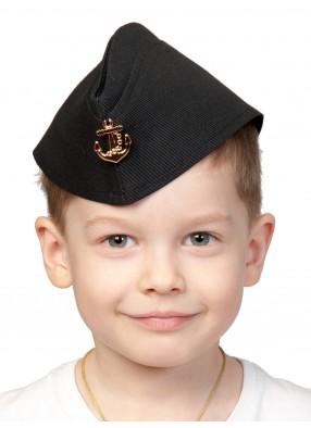 Пилотка ВМФ детская фото