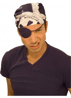 Пиратская бандана череп
