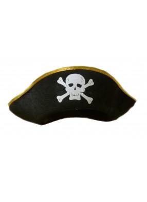 Пиратская шляпа с черепком