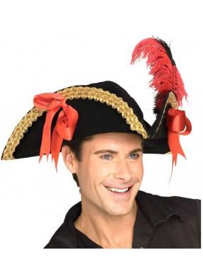 Шляпа пиратская треугольная