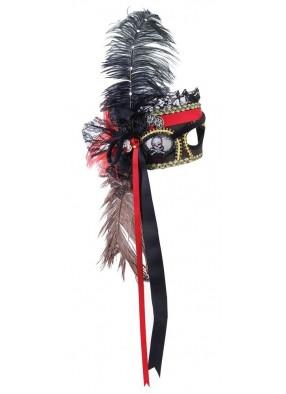 Пиратская венецианская маска фото