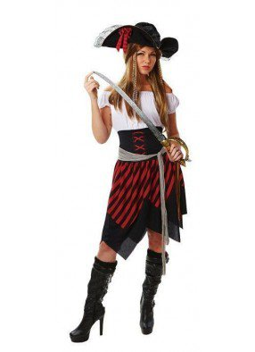 Пиратский костюм для женщин фото