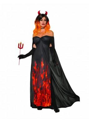 Платье элегантный дьявол