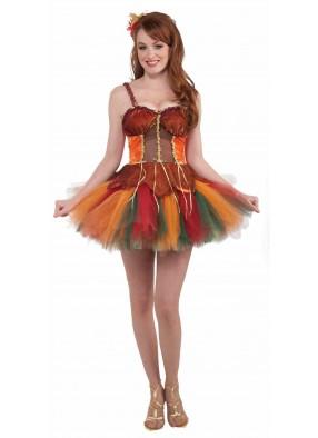 Платье феи Краски осени