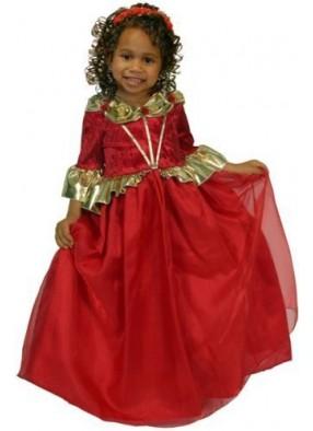 Платье королевы рубиновое фото