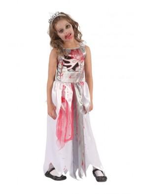 Платье Королевы Зомби кровавое