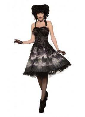 Платье куклы на хэллоуин